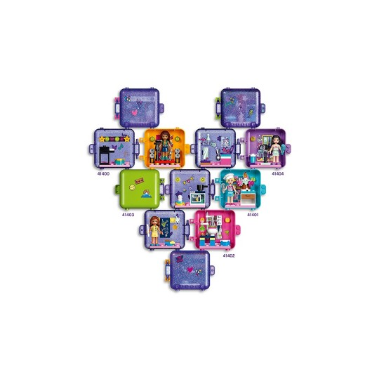 LEGO Friends Mia's Play Cube 41408 Building Kit image number null