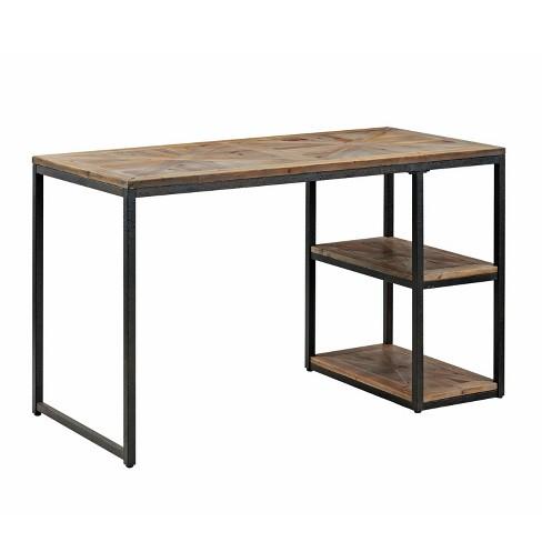 Garris Reclaimed Wood Writing Desk