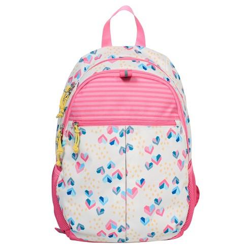 Kids Backpack Hearts And Stripes 17 Cat Jack Target