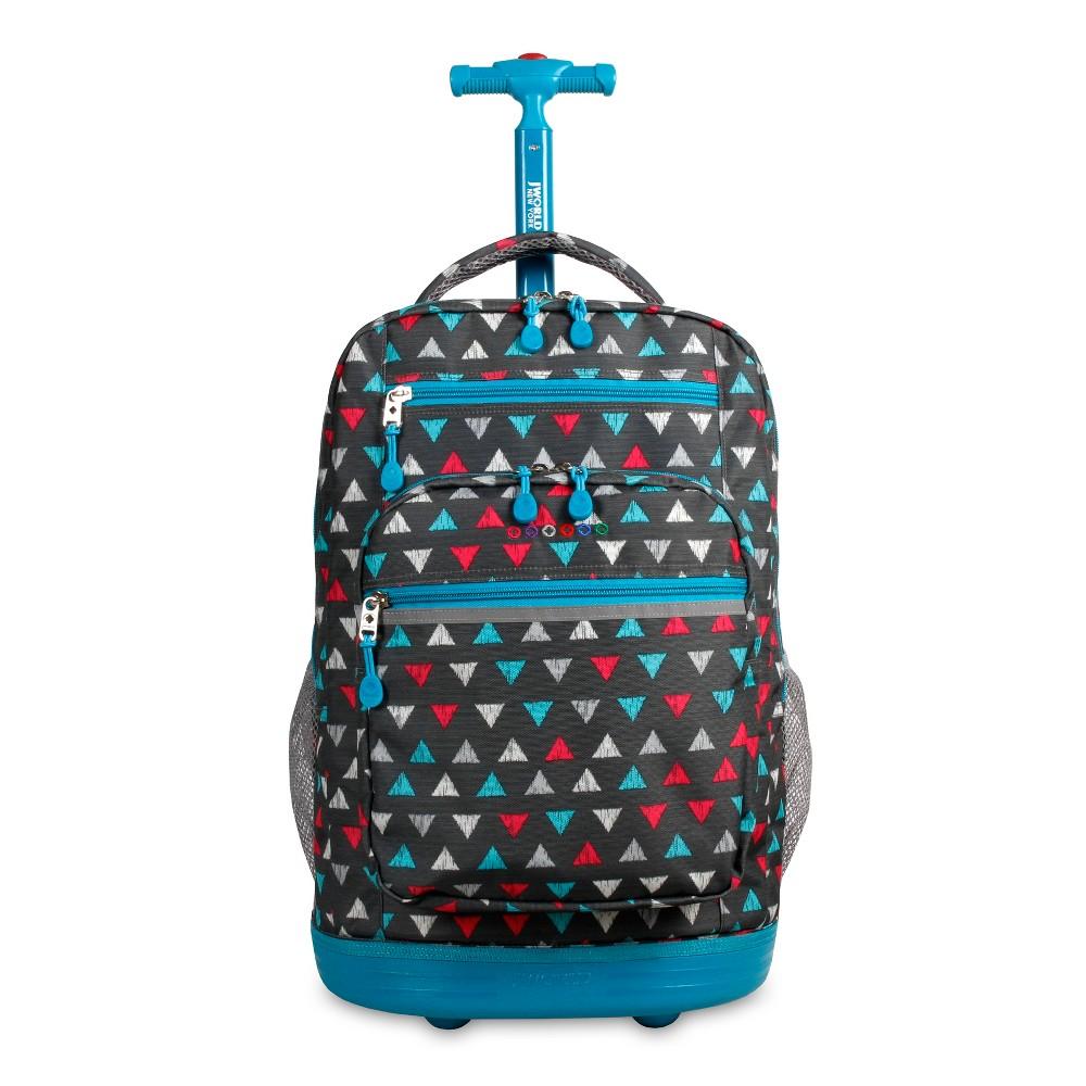 J World 20 Sundance Laptop Rolling Backpack - Sprinkle, Gray
