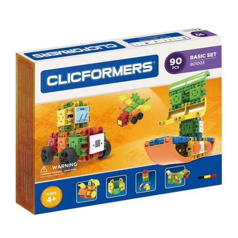 Clicformers Basic Building Set - 90pc - image 1 of 7