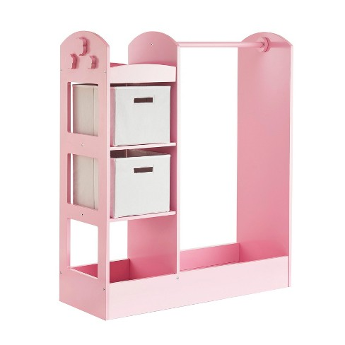 """Clothing Armoire 42"""" Pink - Guidecraft - image 1 of 4"""
