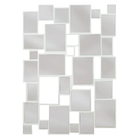 Rectangle Decorative Wall Mirror White - Kenroy Home - image 1 of 2