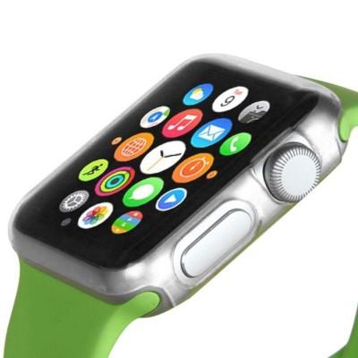 MYBAT For Apple Watch Series 1 38mm Clear Rubber Bumper