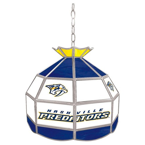 Nashville Predators Stained Glass Tiffany Lamp - 16 inch - image 1 of 1