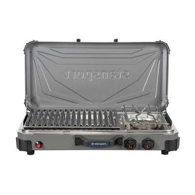 Stansport Boulder Series Propane Stove & Grill Combo