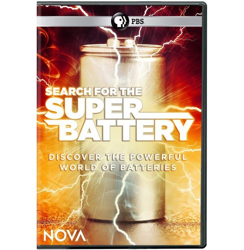 Nova:Search For The Super Battery (DVD) - image 1 of 1