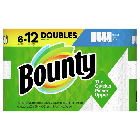 Bounty Select-A-Size Paper Towels - image 1 of 4