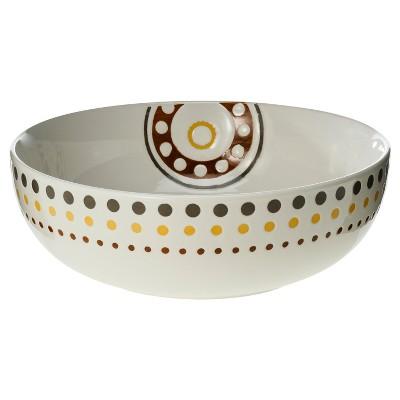 Rachael Ray Stoneware Round Serving Bowl