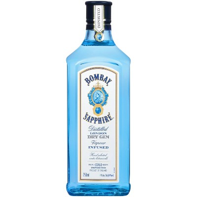 Bombay Sapphire Gin - 750ml Bottle