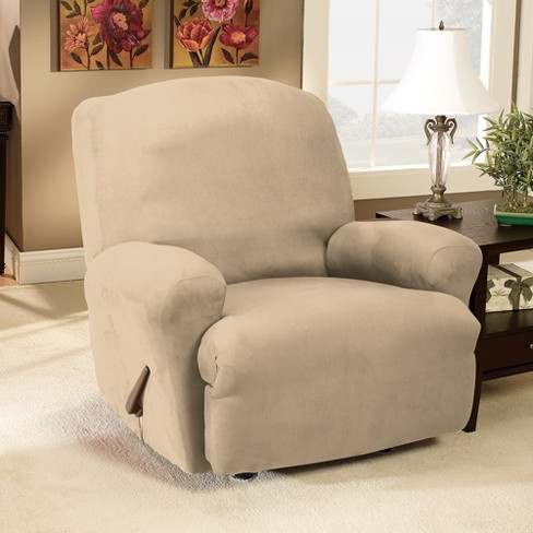Stretch Suede Recliner Slipcover - Sure Fit   Target b098d8cb6e