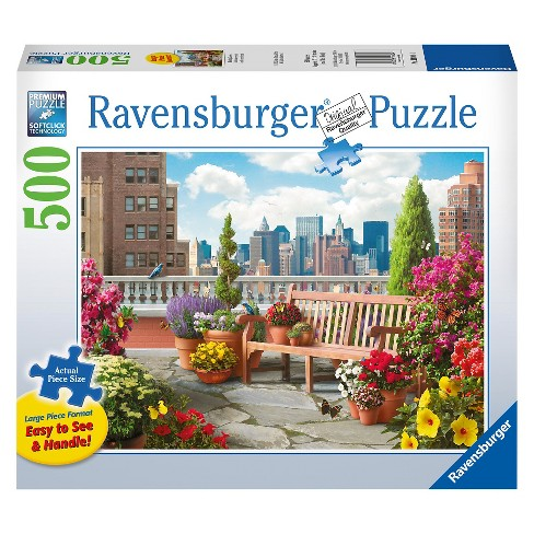 Ravensburger Rooftop Garden Puzzle 500pc - image 1 of 2