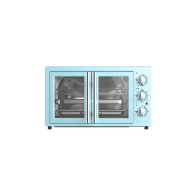 Galanz 42L French Door Air Fryer Toaster Oven - Blue