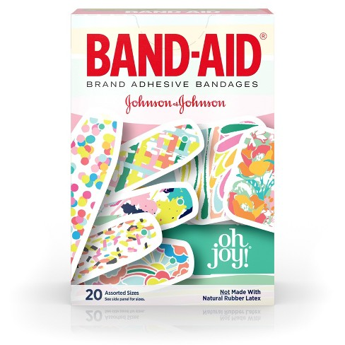 BAND-AID Oh Joy! Adhesive Bandages - 20ct - image 1 of 4