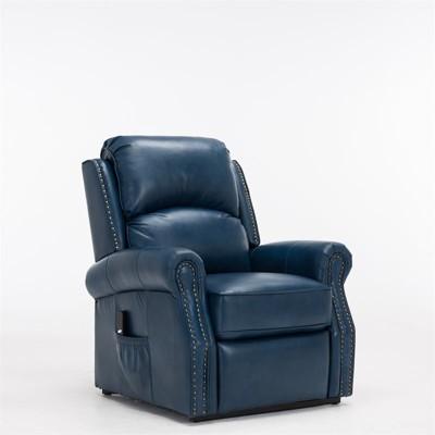 Crofton Navy Blue Lift Chair - Comfort Pointe