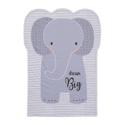 Little Love By NoJo Emma The Elephant Knit Shaped Baby Blanket