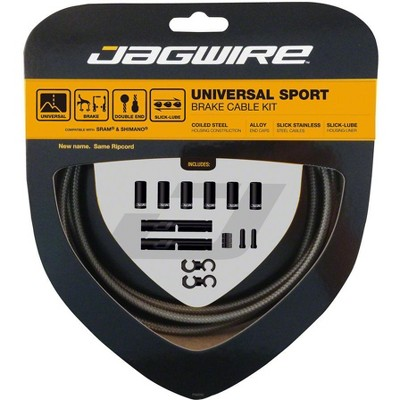 Jagwire Universal Sport Brake Kit Brake Cable & Housing Set