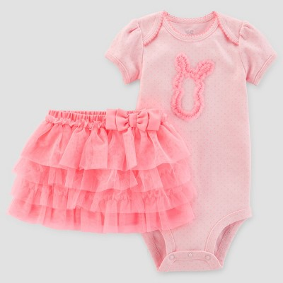 Baby Girls' Bunny Tutu Set - Just One You® made by carter's Pink Newborn