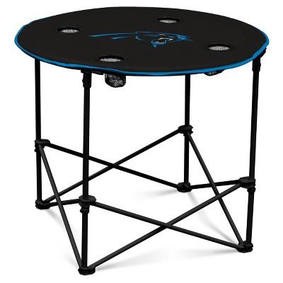 NFL Carolina Panthers Portable Round Table