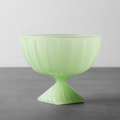 Pedestal Dessert Bowl - Green - Hearth & Hand™ with Magnolia