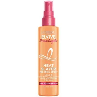 L'Oreal Paris Elvive Dream Lengths Heat Slayer Pre-Iron Spray Leave-In - 4.4oz