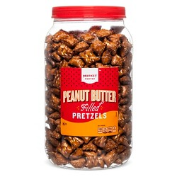 Peanut Butter Filled Pretzels - 44oz - Market Pantry™