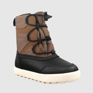 Boys' Ivan Winter Boots - Cat & Jack™ Brown 1
