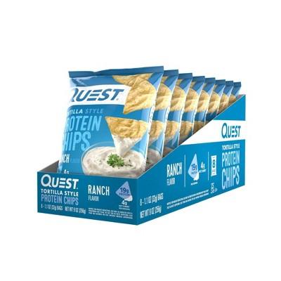 Quest Tortilla Chip Ranch - 8ct/1.1oz