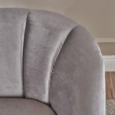Amaia Modern New Velvet Club Chair - Christopher Knight Home : Target