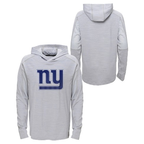 online store babcc a6360 New York Giants Boys' Lightweight Gray Pullover Hoodie - XS