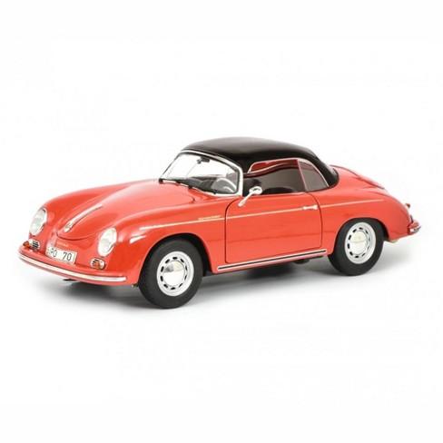 "Porsche 356 A Carrera Speedster Red w/Black Top ""70 Years of Porsche Sports Cars"" Ltd Ed 777 pcs 1/18 Diecast by Schuco - image 1 of 4"