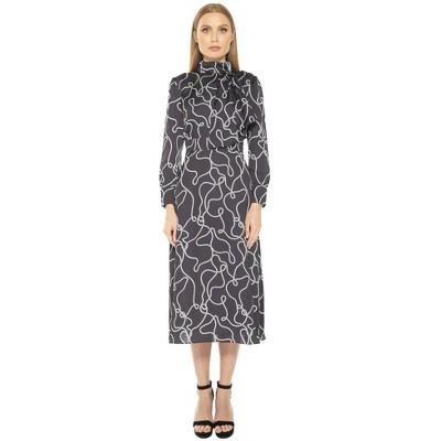 Alexia Admor Brooklyn Midi Fit And Flare Dress