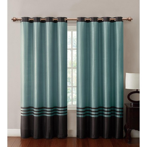 VCNY Home Barclay Faux Silk Grommeted Curtain Panel - image 1 of 1