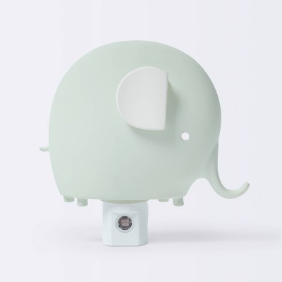 Automatic Nightlight Elephant - Cloud Island™ Gray