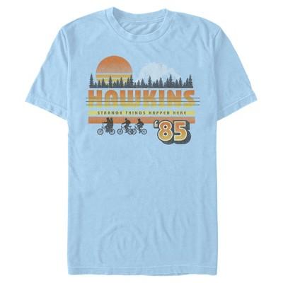 Men's Stranger Things Retro Hawkins Bikers T-Shirt