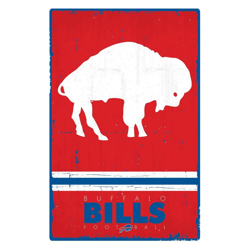 Buffalo Bills Retro Logo Unframed Wall Poster