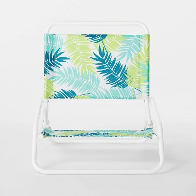Sand Chair Green Leaves - Sun Squad™