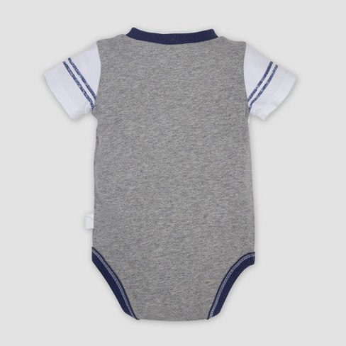 f038145ac91e Burt s Bees Baby® Baby Boys  Organic Cotton Contrast Yoke Bodysuit ...