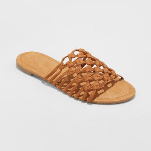 c023524bd17 Women s Daphne Microsuede Rope Slide Sandals - Universal Thread ...