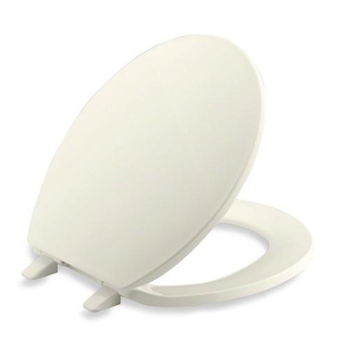 Fabulous Kohler K 4775 Brevia Q2 Round Closed Front Toilet Seat Ncnpc Chair Design For Home Ncnpcorg