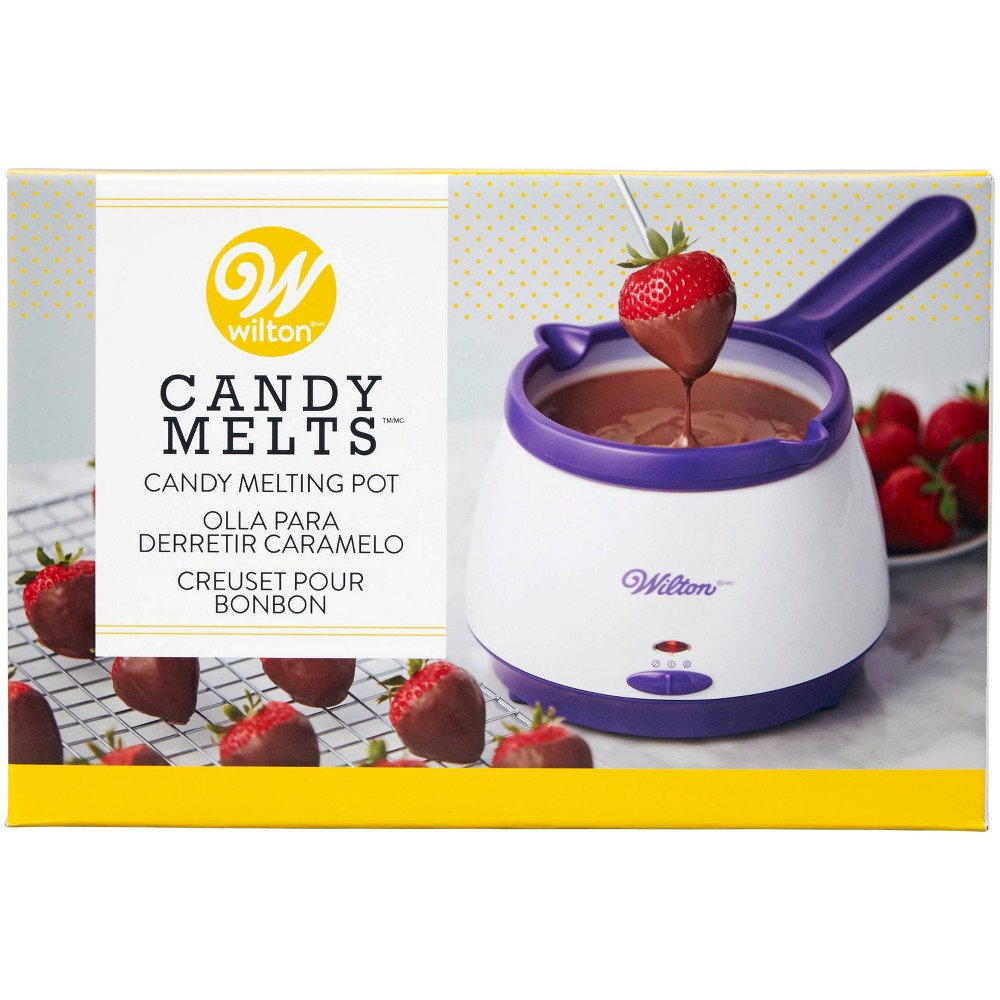 Image of Wilton 4qt Candy Melting Pot, White