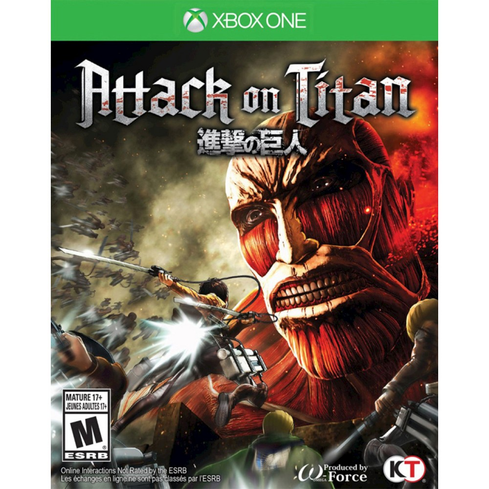 Attack on Titan Xbox One, Video Games . The game works for Xbox One consoles. Join the Scout Regiment to fight back and protect your district. This game is suitable everyone 17 and older.