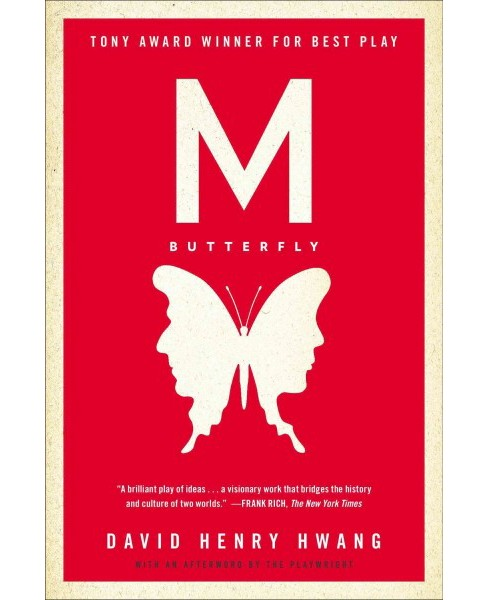 M Butterfly -  by David Henry Hwang (Paperback) - image 1 of 1