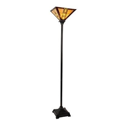 Tiffany Style Floor Lamp - Mission Design