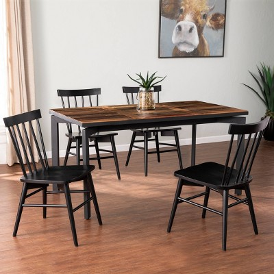Hambran Reclaimed Wood Dining Table Natural/Gray - Aiden Lane