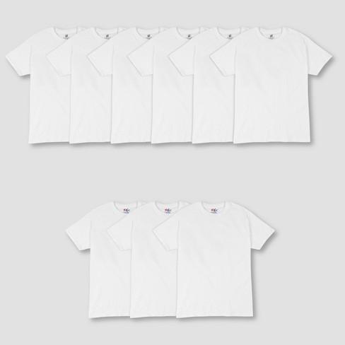 Hanes Men's P6 Comfort Soft Crew T-Shirt + 3 FREE XTEMP Crew Shirt - White - image 1 of 2