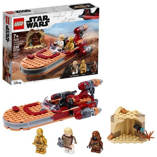 LEGO Star Wars: A New Hope Luke Skywalker's Landspeeder 75271 Building Kit image number null