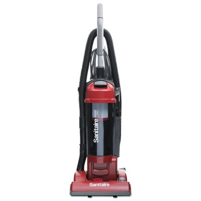 Sanitaire SC5745D FORCE 17 lbs. 3.5 qt. Sealed HEPA Upright Vacuum with Dust Cup - Red