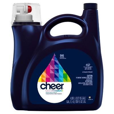 Cheer HE Compatible Liquid Laundry Detergent - 138 fl oz