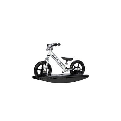"Strider 12"" Pro 2-in-1 Rocking Bike - Silver"